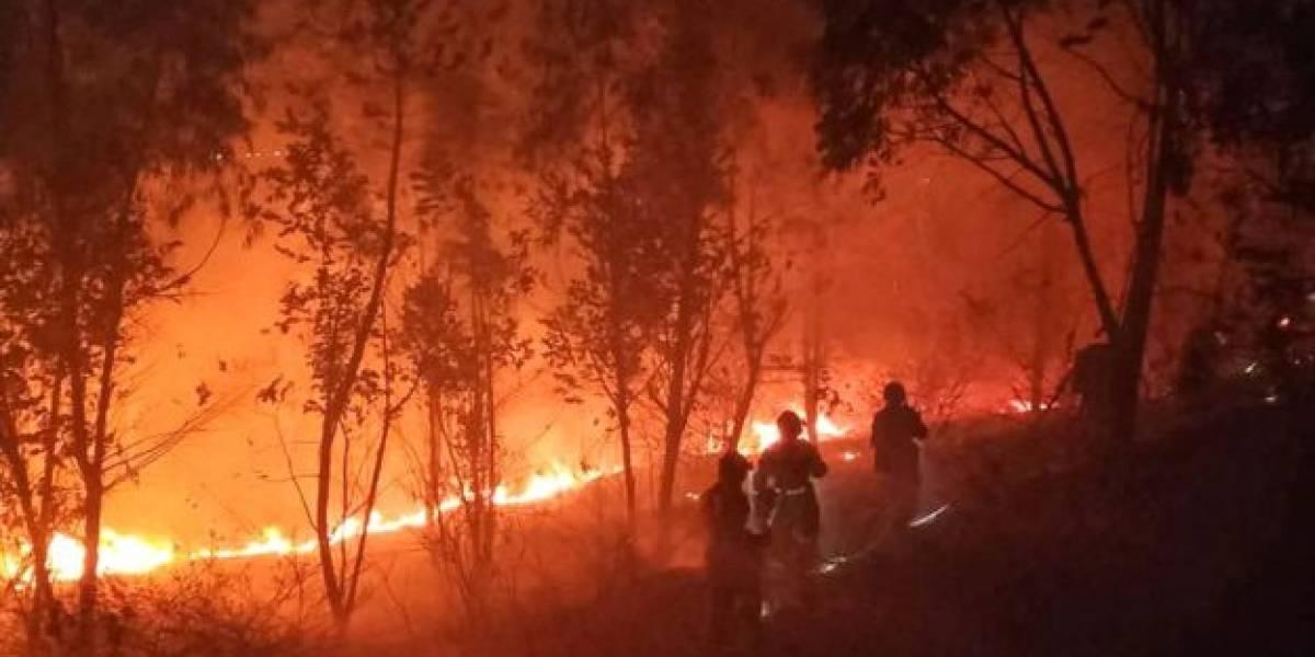 China: incendio forestal lleva dos días y ha matado a 19 personas