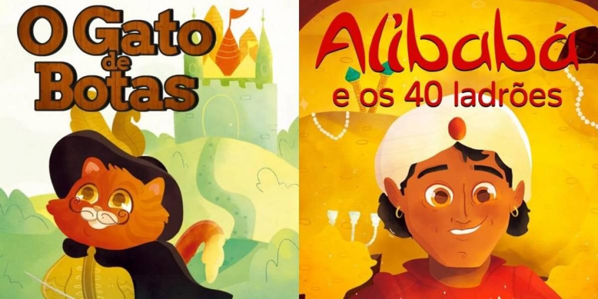 Plataforma disponibiliza grátis 10 audiolivros clássicos para crianças