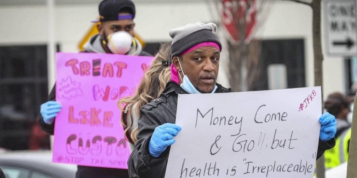 Amazon despide empleado que organizó protesta para pedir medidas contra el Covid-19