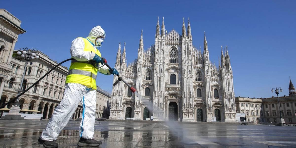 Italia llegó al pico de contagios de coronavirus Covid-19