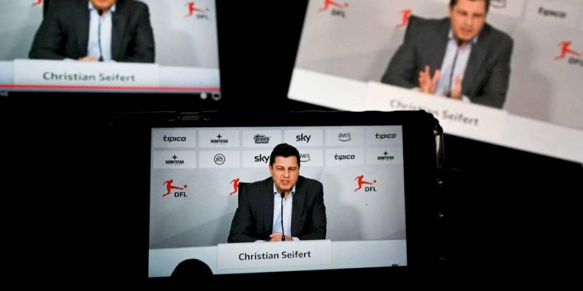 La Bundesliga se mantendrá suspendida todo abril