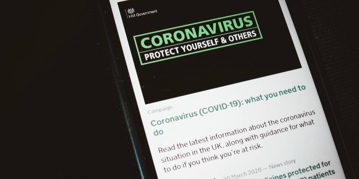 Aplicativo informará se você está perto de alguém com coronavírus