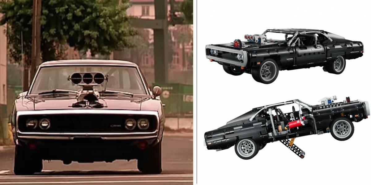 Dom's Dodge Charger, ¡el nuevo carrito LEGO de la saga Rápido y Furioso!