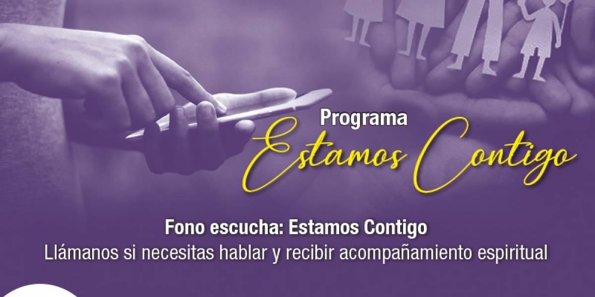 """Iglesia lanza servicio de videollamadas para acompañamiento espiritual: """"Estamos Contigo"""""""