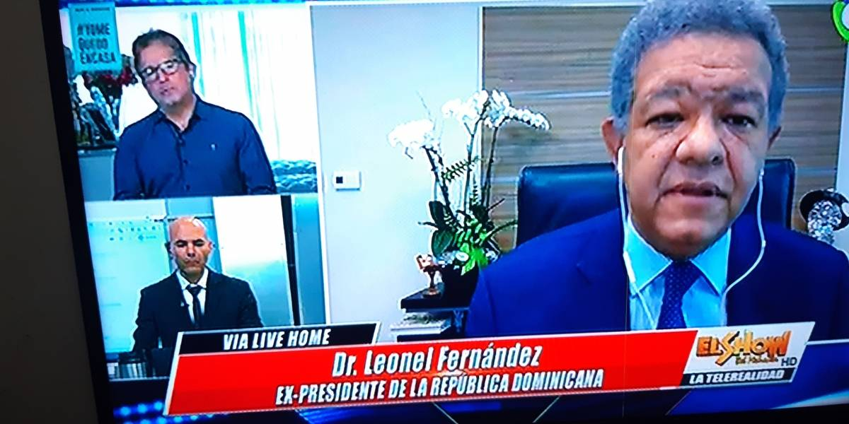 """Programa """"El show del mediodía"""" propone cumbre con líderes políticos para solución Covid-19"""