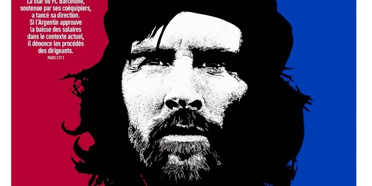 Diario francés compara a Lionel Messi con el 'Che' Guevara