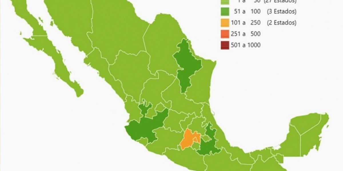 Casos de coronavirus en México hoy 31 de marzo