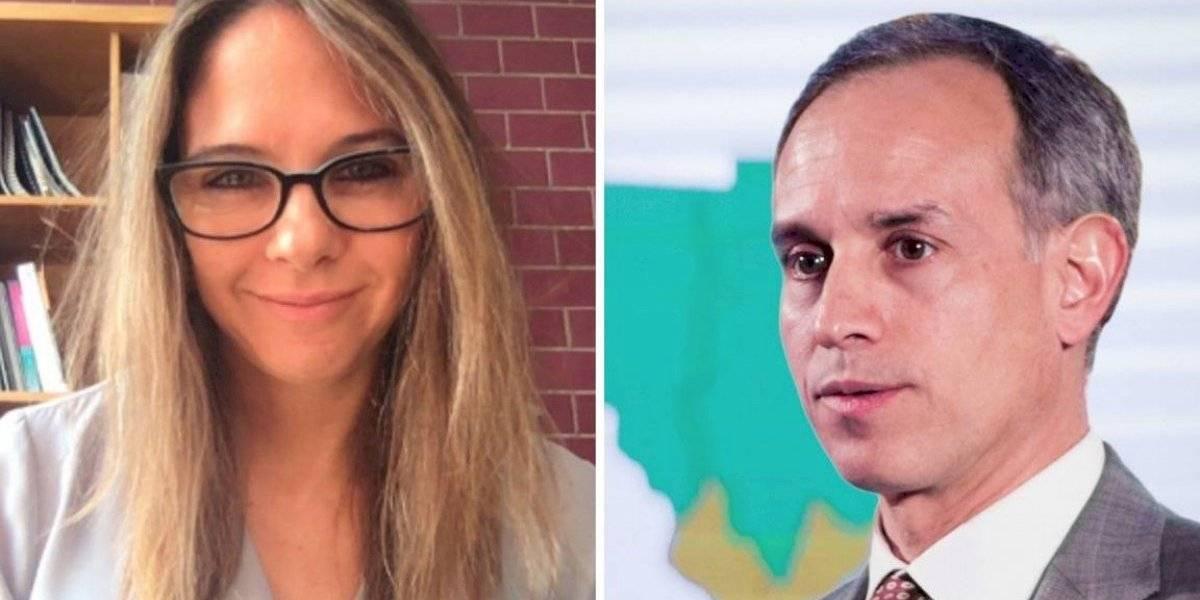 ¿Quién es Arantxa Colchero, esposa de Hugo López-Gatell?