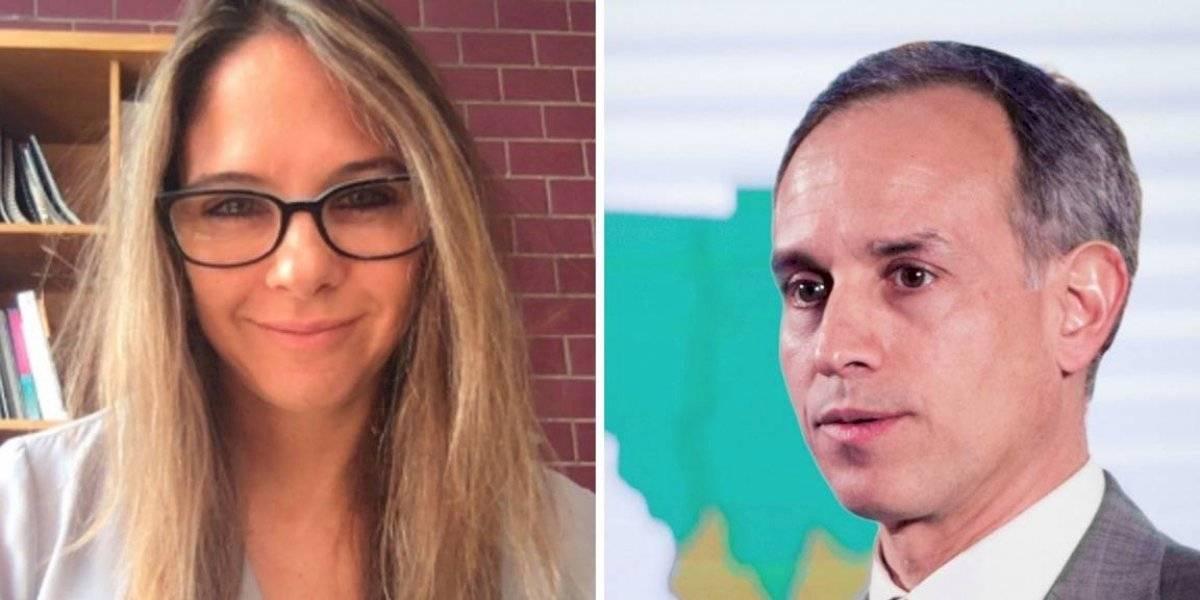 ¡Hugo López-Gatell está soltero! Arantxa Colchero revela su separación