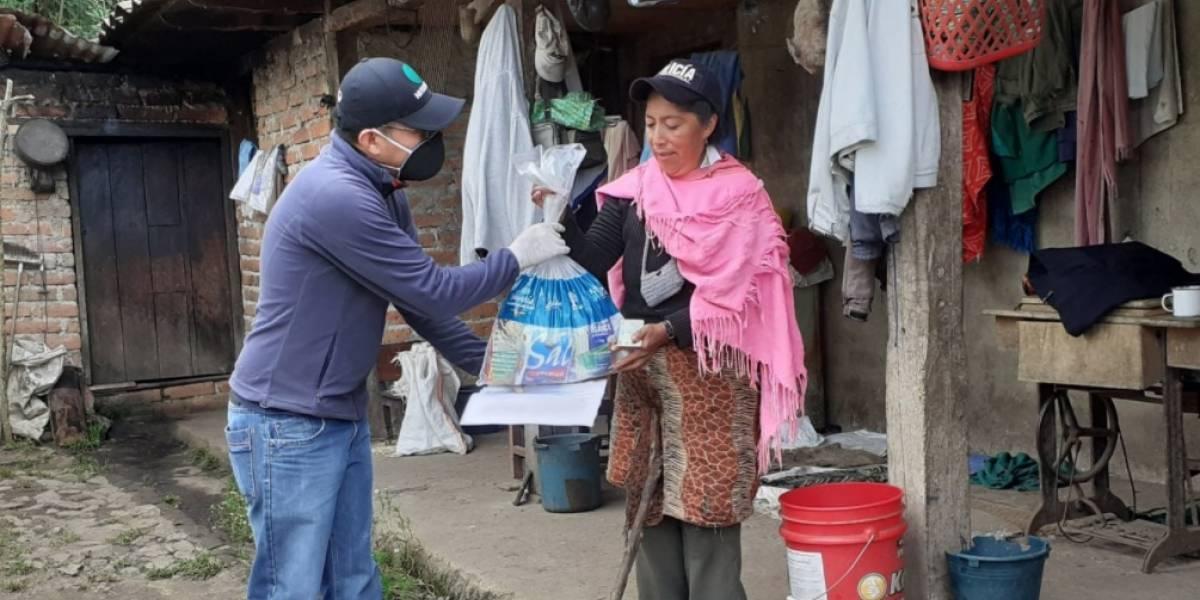 245 mil kits de alimentos se han entregado a las familias más vulnerables, según Iván Granda