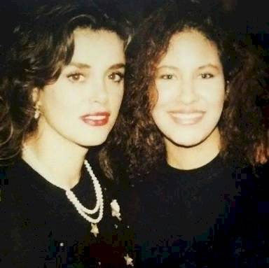 Lucía Méndez y Selena Quintanilla