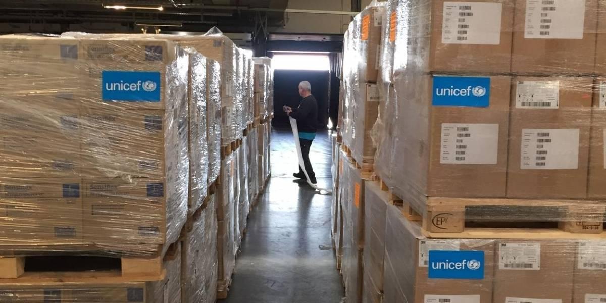 UNICEF continúa enviando suministros vitales a los países afectados en medio de un número creciente de casos de COVID-19
