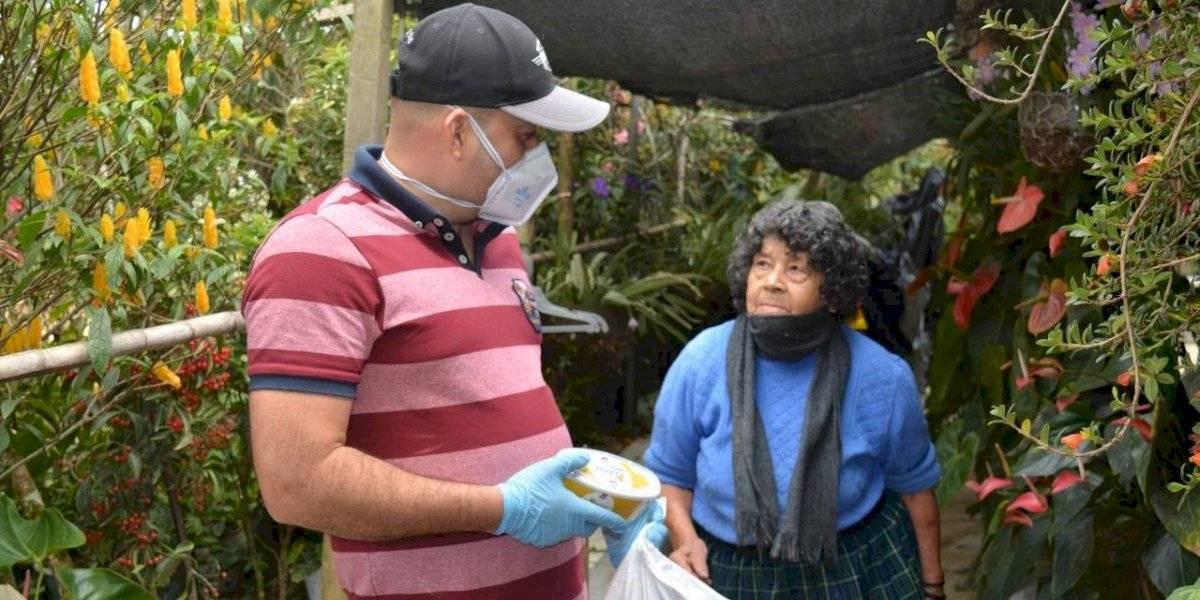 Antioquia Solidaria ha entregado kits de alimentos a mas de 18.000 familias