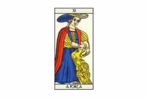 Previsões do Tarot para Abril: arcano A Força