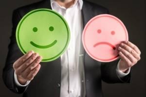 A diferença entre felicidade e sofrimento