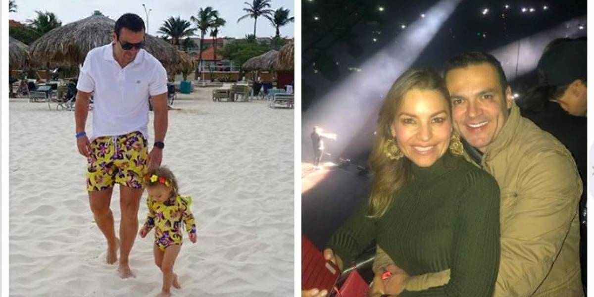 Por video dicen que hija de Juan Diego Alvira será igual de hermosa que su mamá