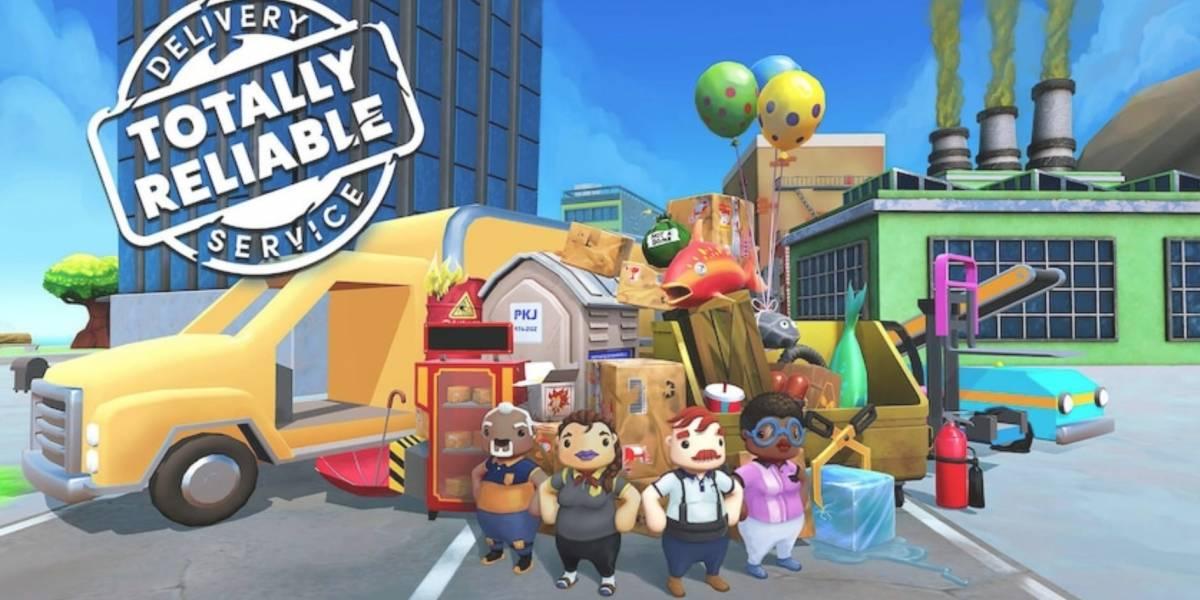 Jogo Totally Reliable Delivery Service está disponível gratuitamente na Epic Games Store
