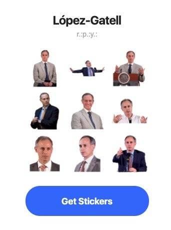 WhatsApp López-Gatell stickers