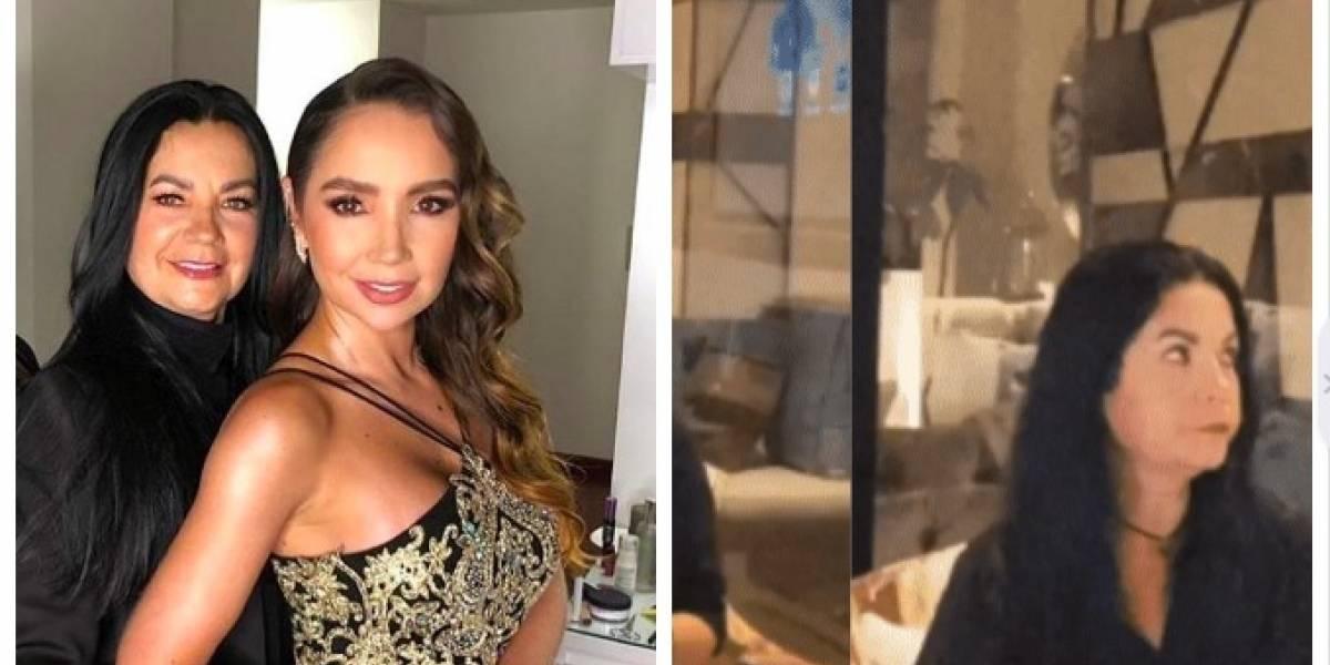 (Video) La emberracada de la mamá de Paola Jara en medio de su fiesta de cumpleaños