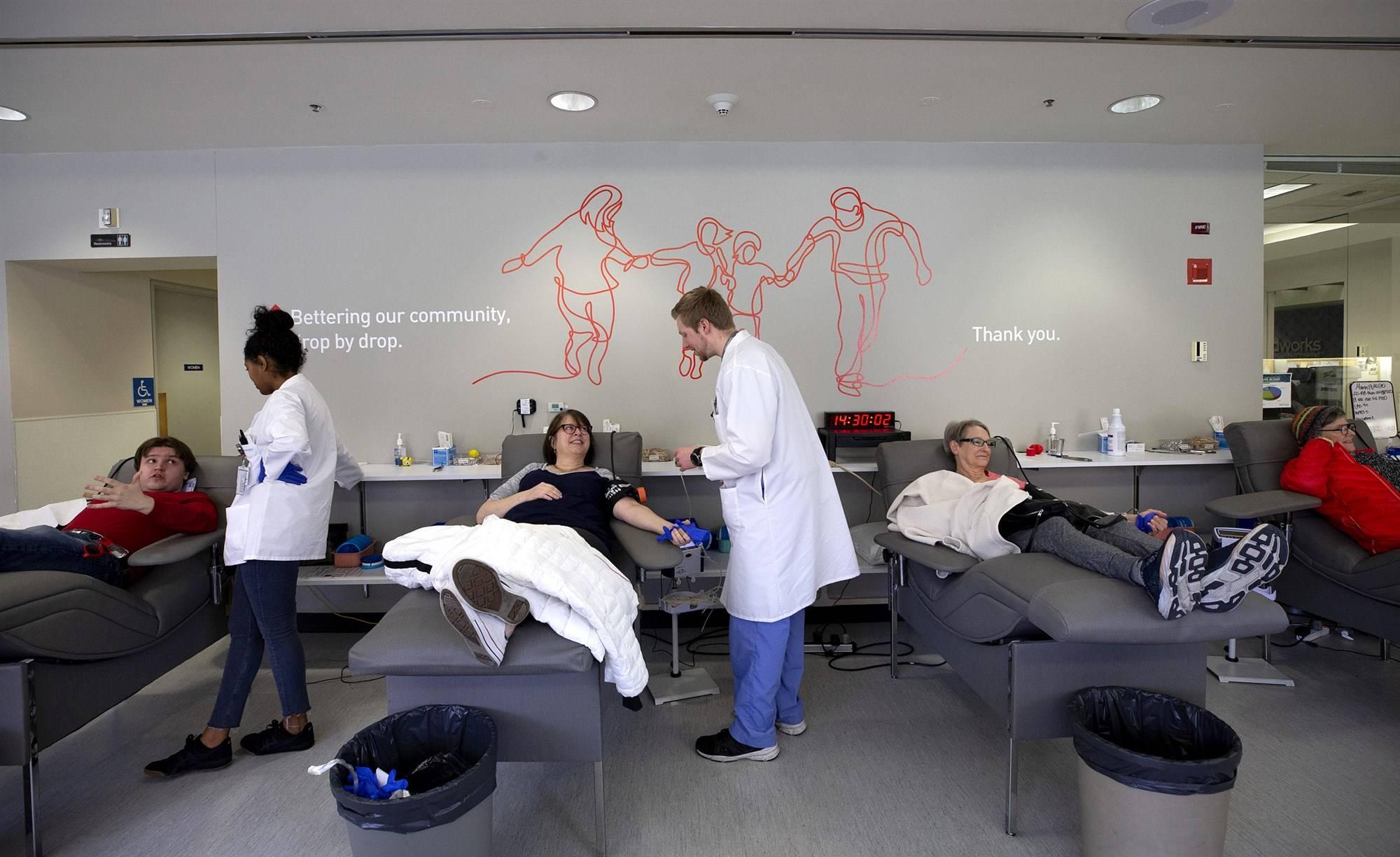 Coronavirus: centro de sangre recolectan plasma de pacientes recuperados