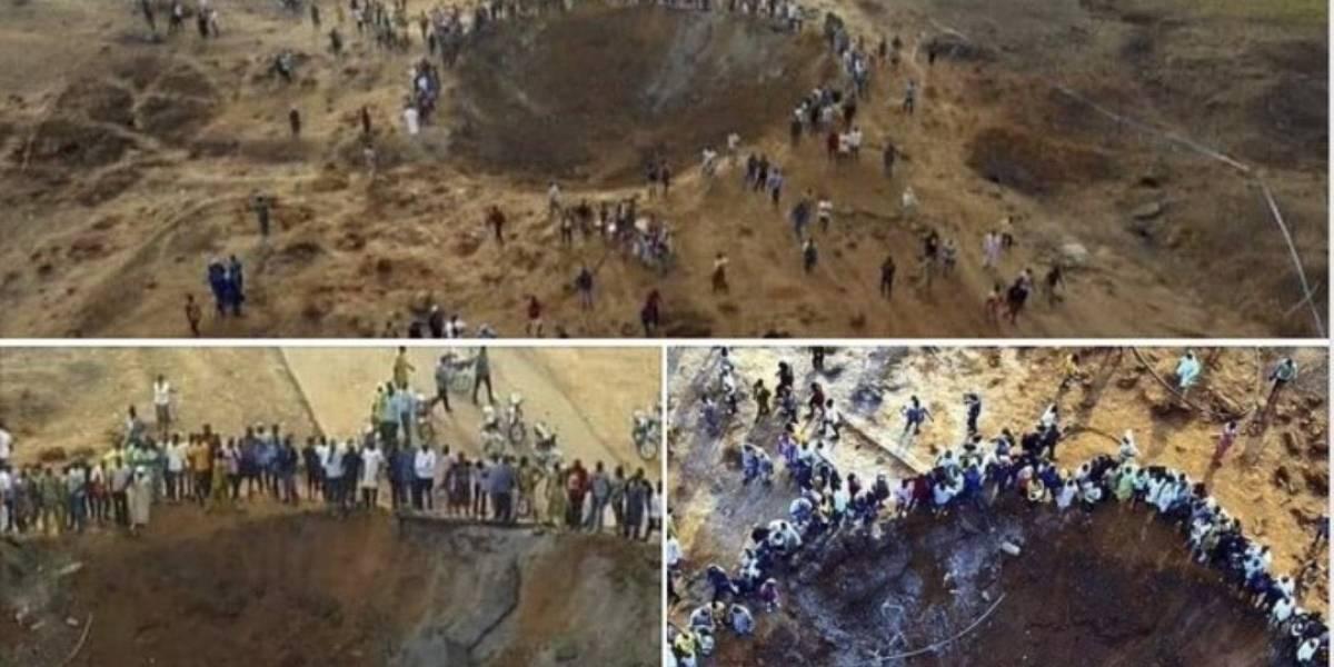 Las sorprendentes fotos y videos del supuesto meteorito en Nigeria