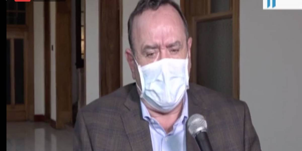 VIDEO. Alejandro Giammattei confirma siete casos más de coronavirus