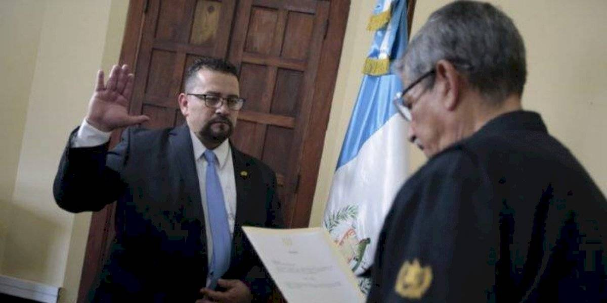 Juramentan a Luis Escobar como director del Sistema Penitenciario