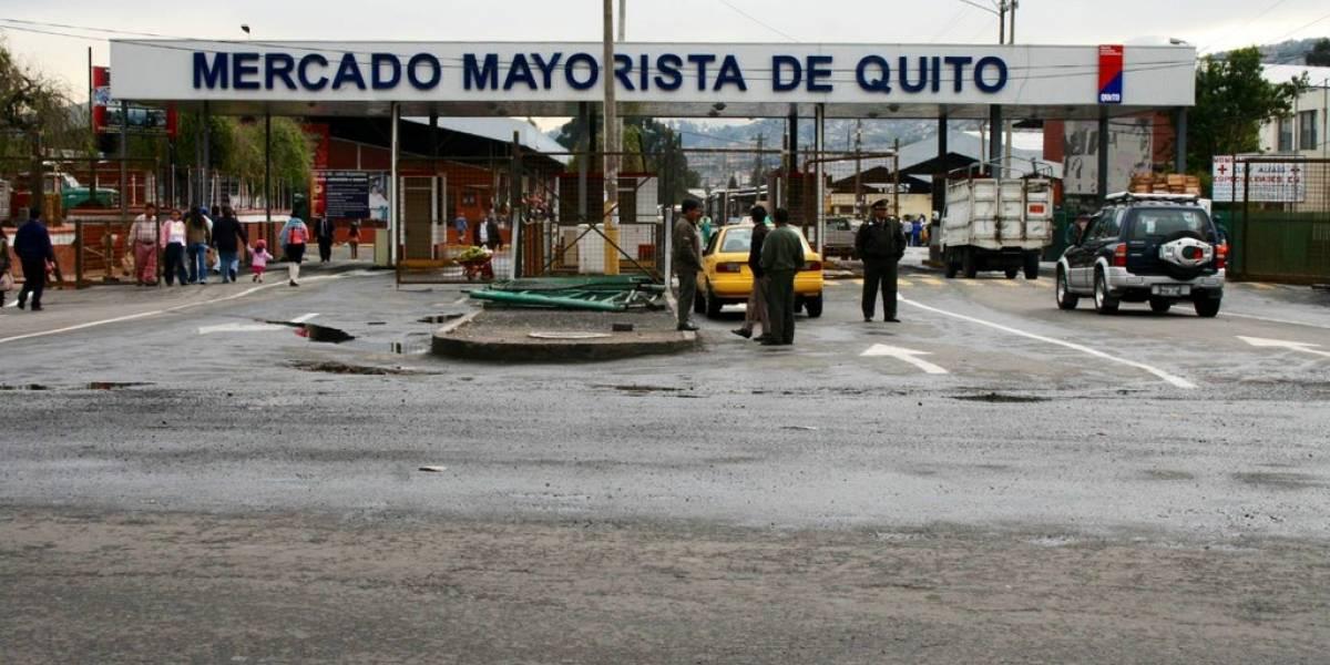 Mercado Mayorista en Quito no permitirá acceso a ciudadanos desde el 3 de abril