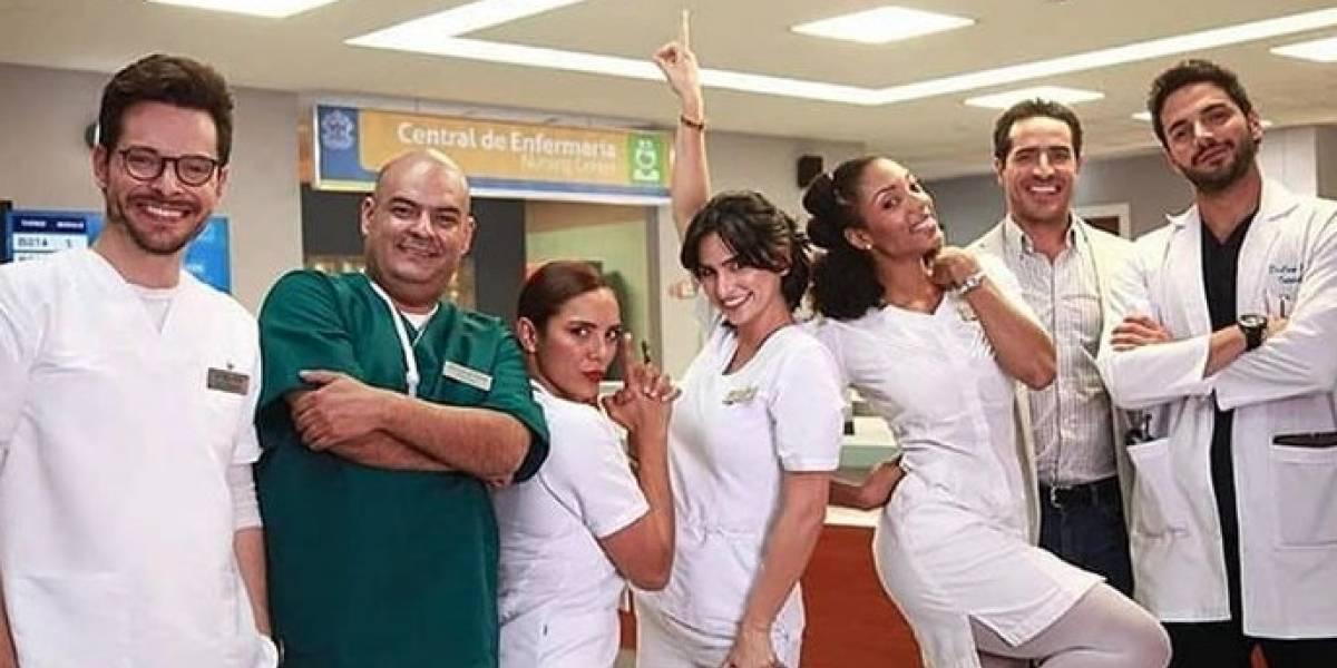 """Actriz de 'Enfermeras' confiesa por qué grabar algunas escenas es una experiencia """"horrible"""""""