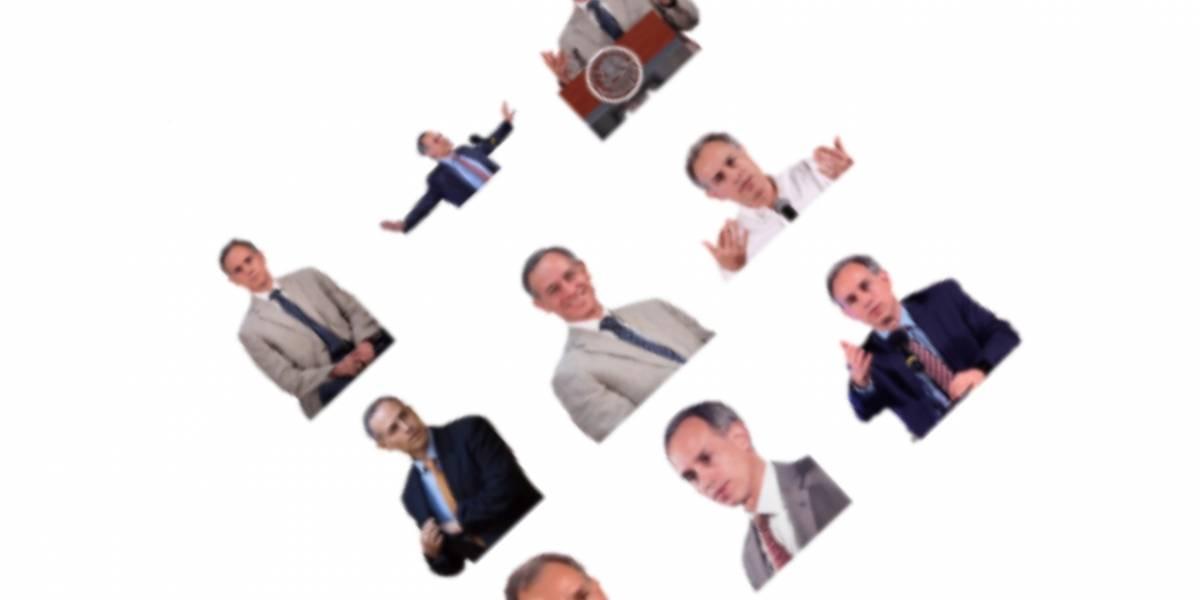 WhatsApp: aquí puedes descargar los stickers de López-Gatell
