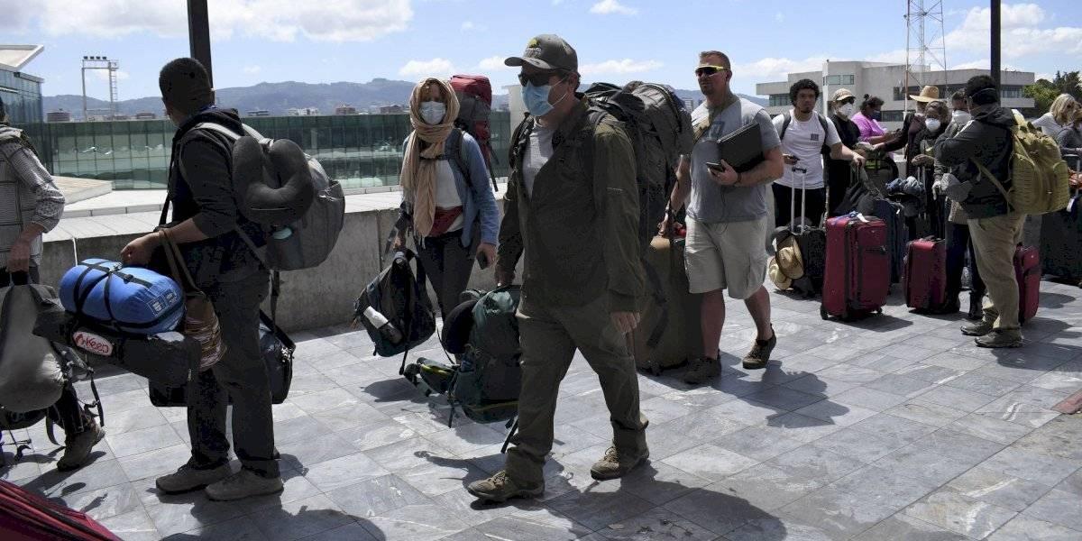 Salen de Guatemala los últimos vuelos de rescate para ciudadanos de EE. UU.