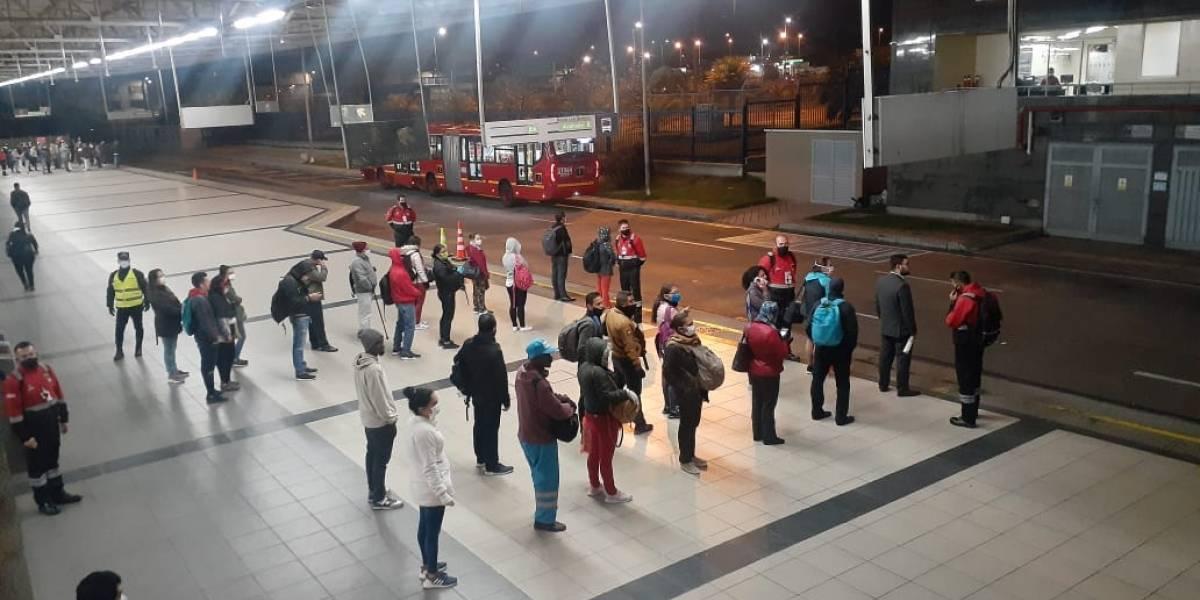 Las rutas especiales de TransMilenio para empleados de los hospitales en cuarentena