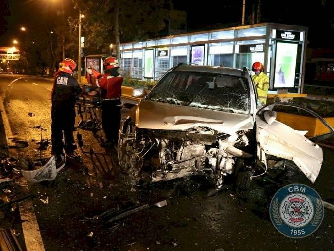 accidente de tránsito en Periférico