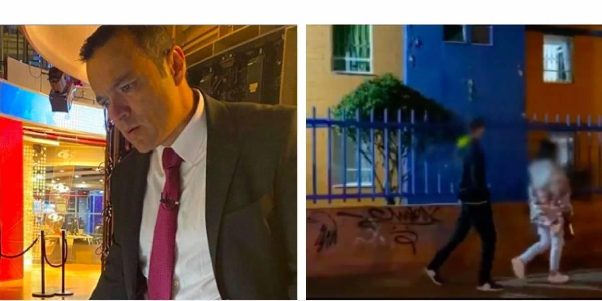 (Video) Joven insultó a Juan Diego Alvira, y todo por 'boletearlo' en la calle en plena cuarentena