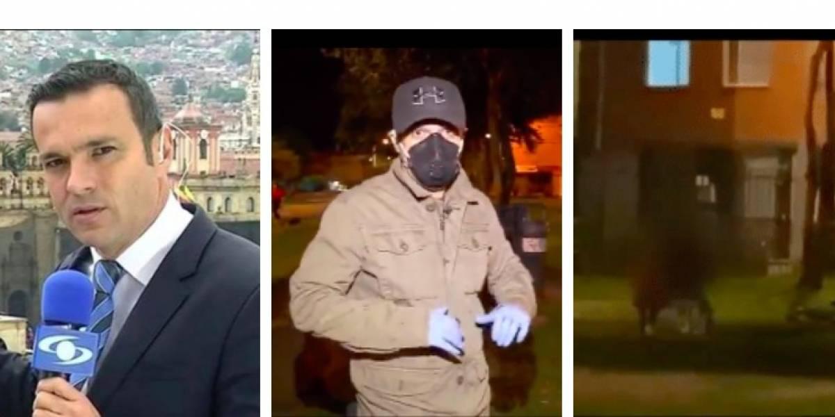 (Video) Así pilló Juan Diego Alvira a pareja que estaba infringiendo la cuarentena