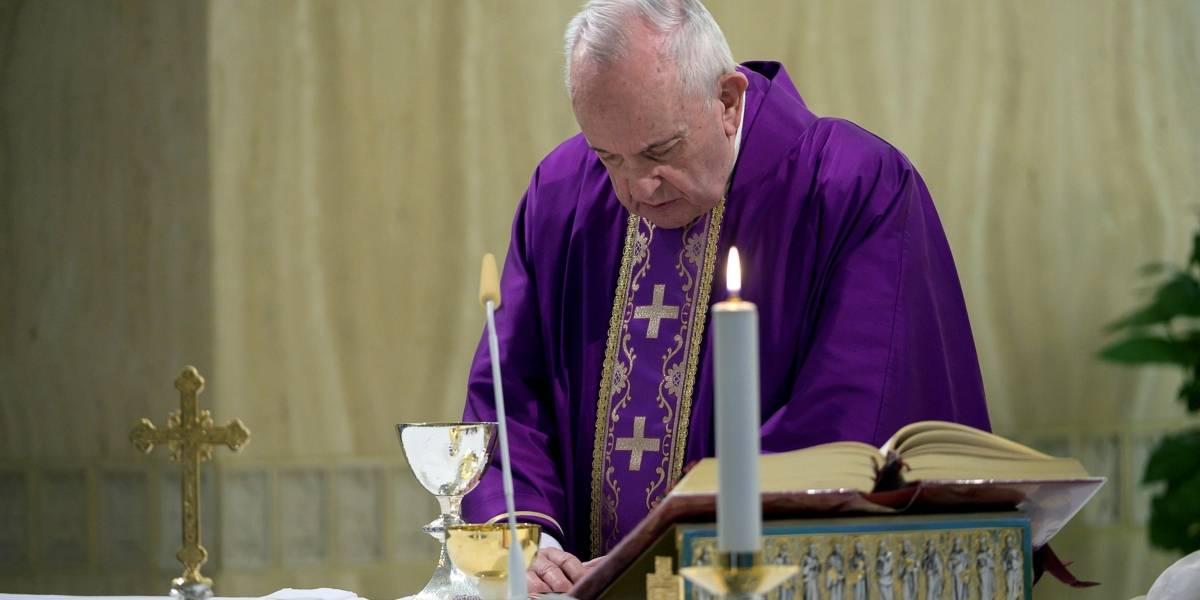 Viva desde su casa la misa del Domingo de Ramos desde el Vaticano