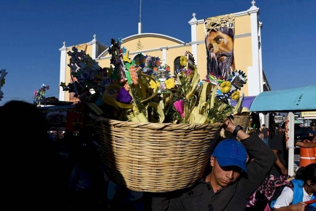 Domingo de Ramos en Guatemala