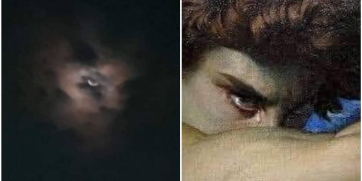 """Captan siniestra imagen en el cielo; usuarios aseguran que es el """"ojo de Lucifer"""""""
