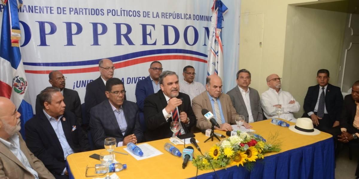 FOPPPREDOM Formaliza ante JCE y TSE, solicitud de posposion de las Elecciones