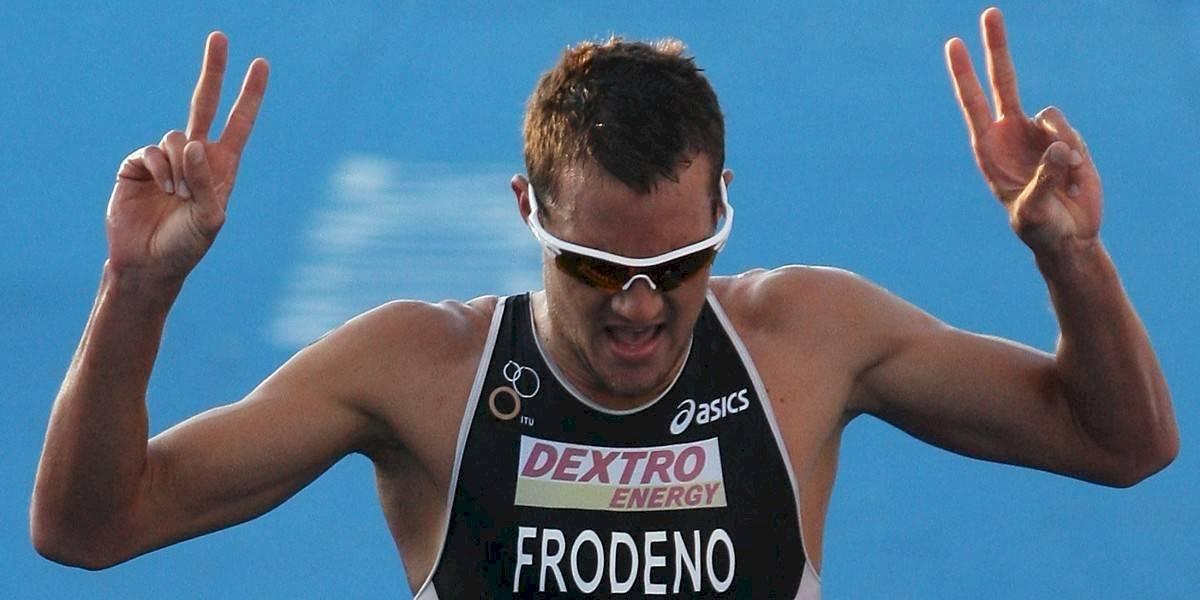 En cuarentena todo vale: medallista olímpico hará un Ironman en su casa