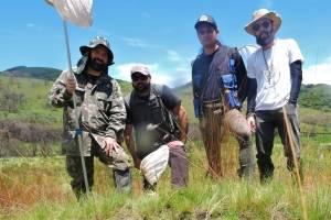 Equipe de cinentistas responsável pela descoberta