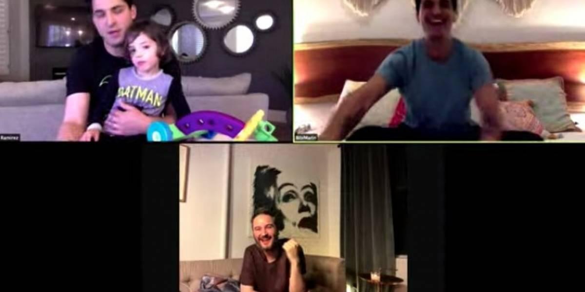 VIDEO. Integrantes de Reik lo entregan todo en un concierto desde casa