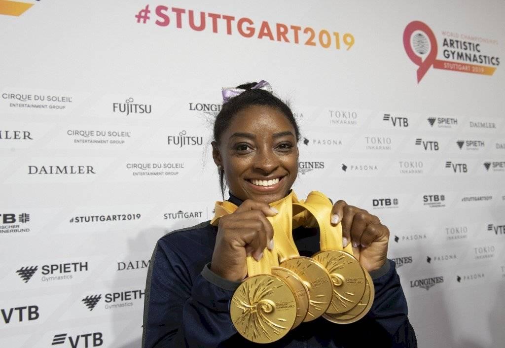 Simone Biles habla de la cancelación de los Juegos Olímpicos