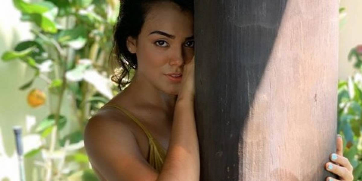 Leggins le juegan una mala pasada a Virginia Argueta, Miss Guatemala y exponen su ropa interior