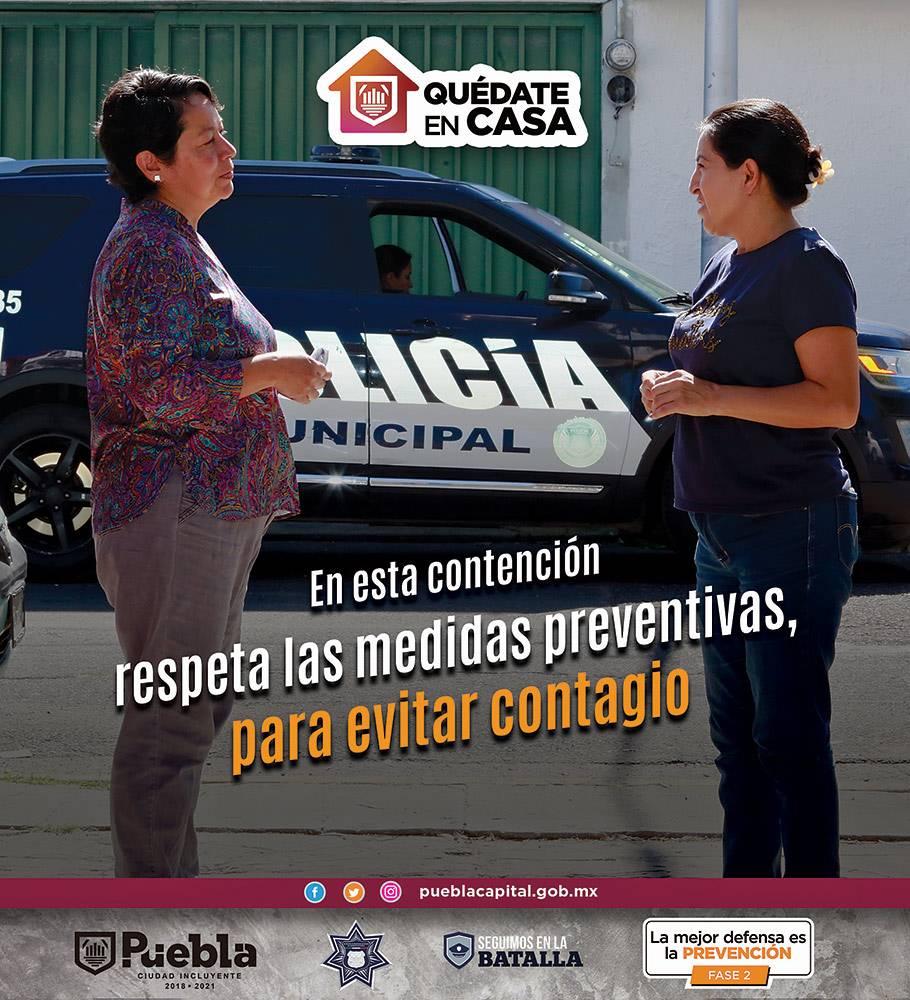 Anuncio Gobierno de Puebla edición Puebla del 3 de abril del 2020, Página 05