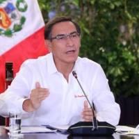 Presidente de Perú acepta su destitución y deja el Palacio de Gobierno