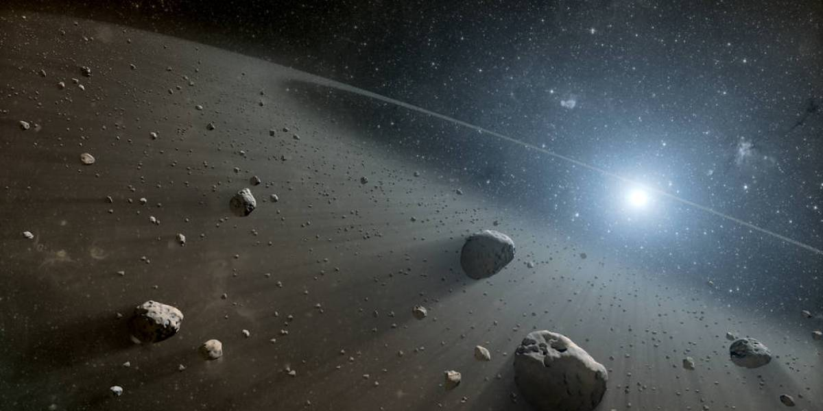 Descubren 4.500 asteroides entre Marte y Júpiter