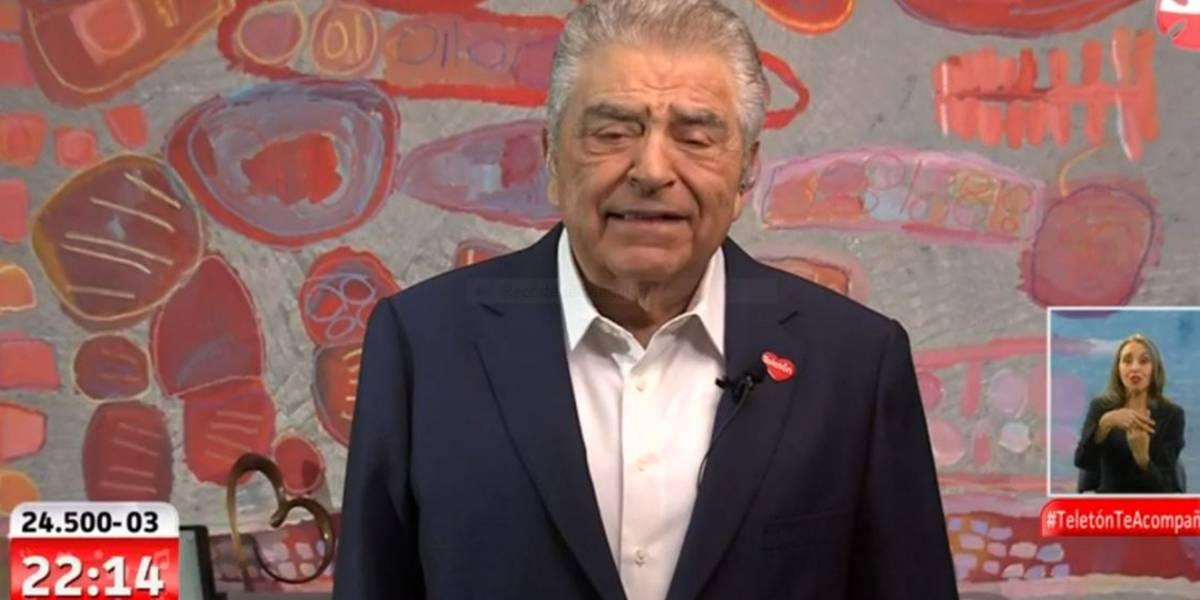 """Don Francisco"" evalúa realizar un ""Chile ayuda a Chile"" por crisis del coronavirus"