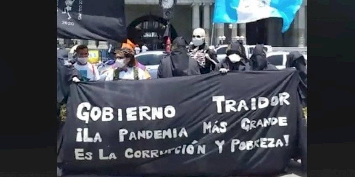 """""""La huelga nadie la para"""", aseguran sancarlistas en este Viernes de Dolores"""