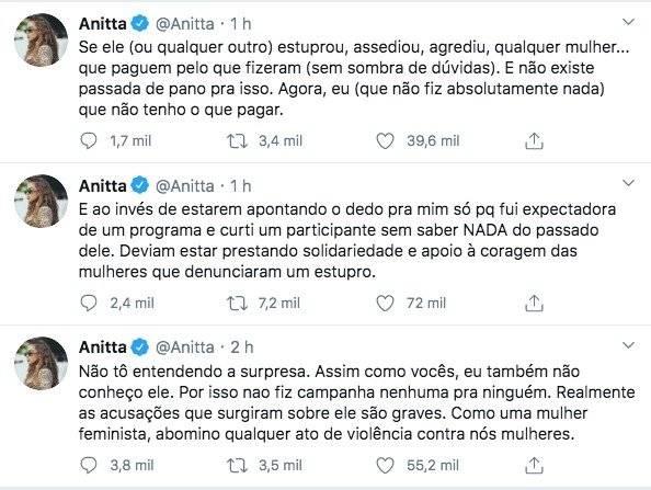 Anitta e Prior prints